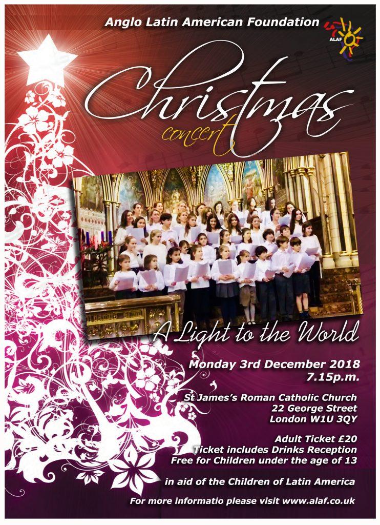 ALAF Christmas Concert 2018_Poster