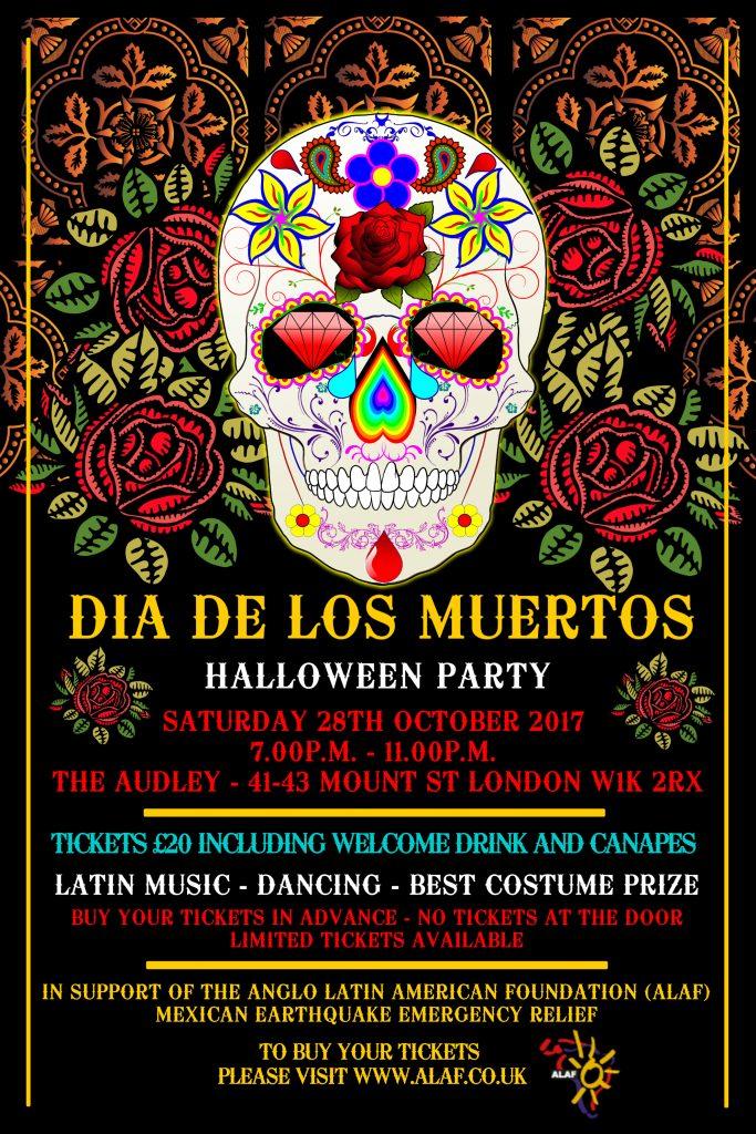 ALAF Dia de los Muertos Halloween Party 2017