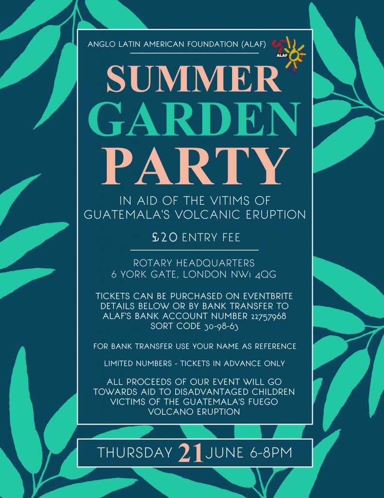 ALAF_Summer Garden Party 2018_Poster_Rev A